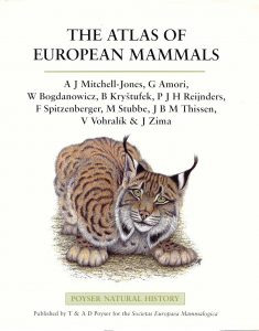 The first Atlas of European mammals