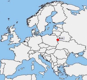Location of Bat project in Belarus.